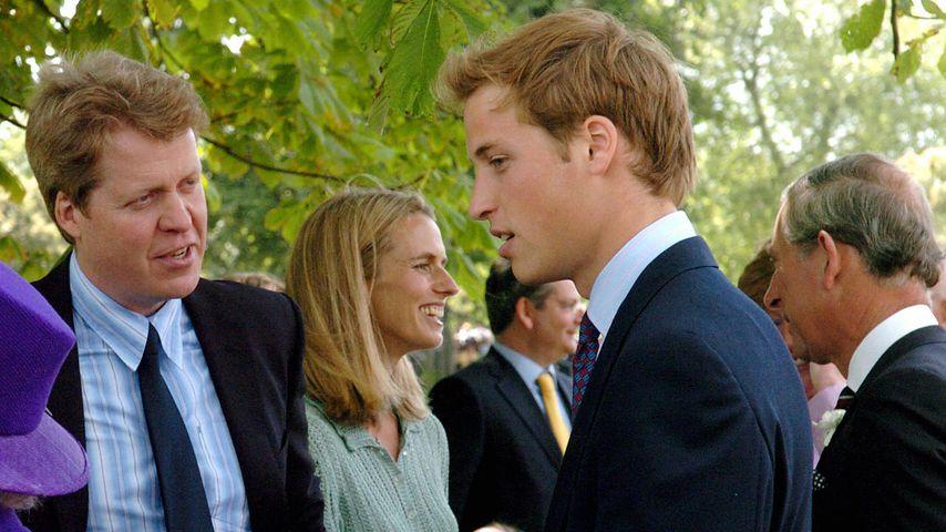 Charles Spencer und sein Neffe Prinz William, 1997