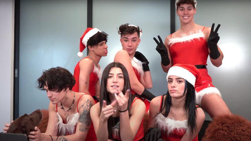 """Charli und Co.: TikTok-Stars im """"Girls Club""""-Weihnachtslook!"""