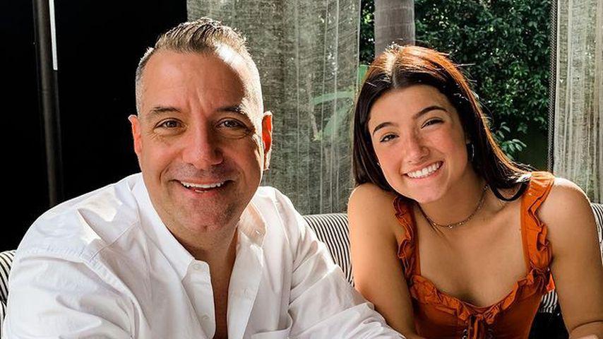 """""""Kritisiert mich"""": Marc D'Amelio verteidigt Tochter Charli"""