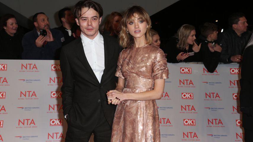 Charlie Heaton und Natalia Dyer, National Television Awards 2018, London