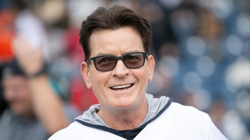 Charlie Sheen im Januar 2019 in Malibu