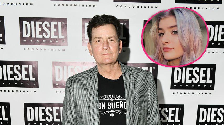 Charlie Sheens Tochter Sami (16) startet jetzt Modelkarriere