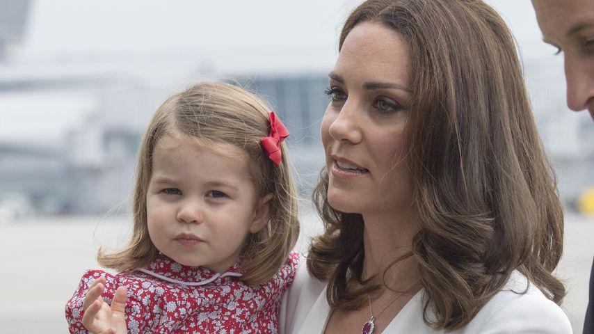 Diesen süßen Move hat Kate von Tochter Charlotte abgeschaut