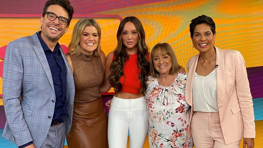 Charlotte Crosby (m.) in einer TV-Show 2020