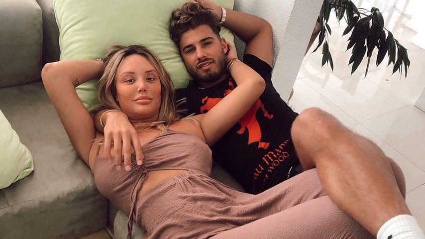 Charlotte Crosby und Joshua Ritchie