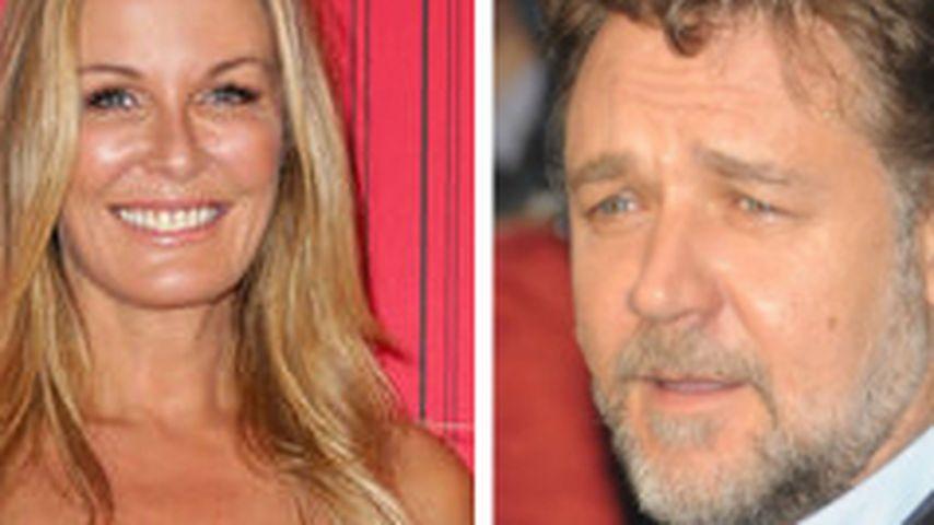 Totes Model (†47): Russell Crowe weint um Freundin