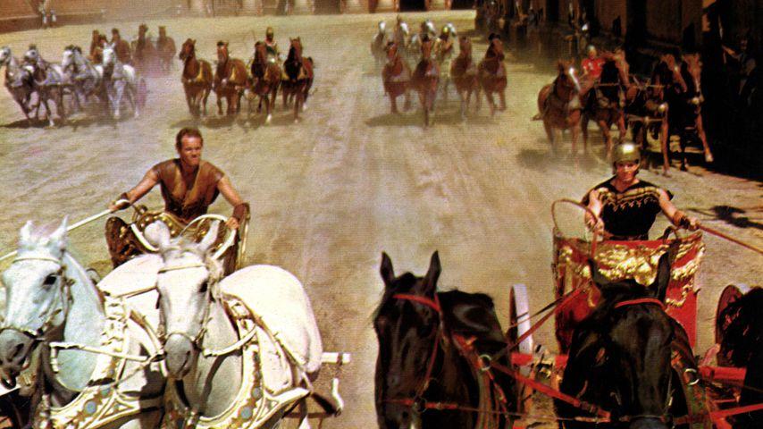 """Charlton Heston und Stephen Boyd in """"Ben Hur"""""""