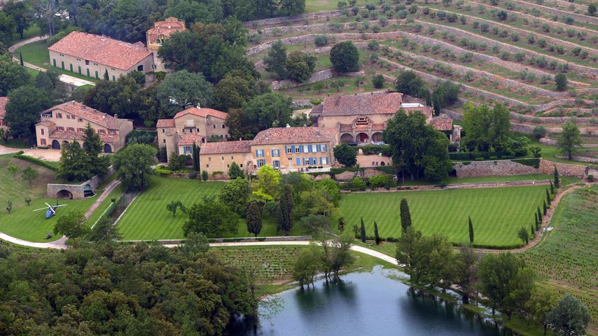 Chateau Miraval in der Provence
