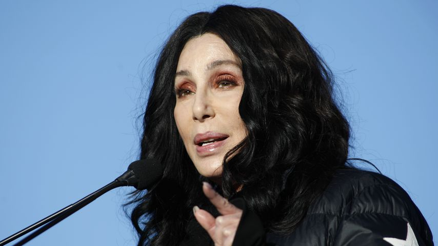 """Cher beim Woman's March """"Power to the Polls"""" in Las Vegas im Januar 2018"""