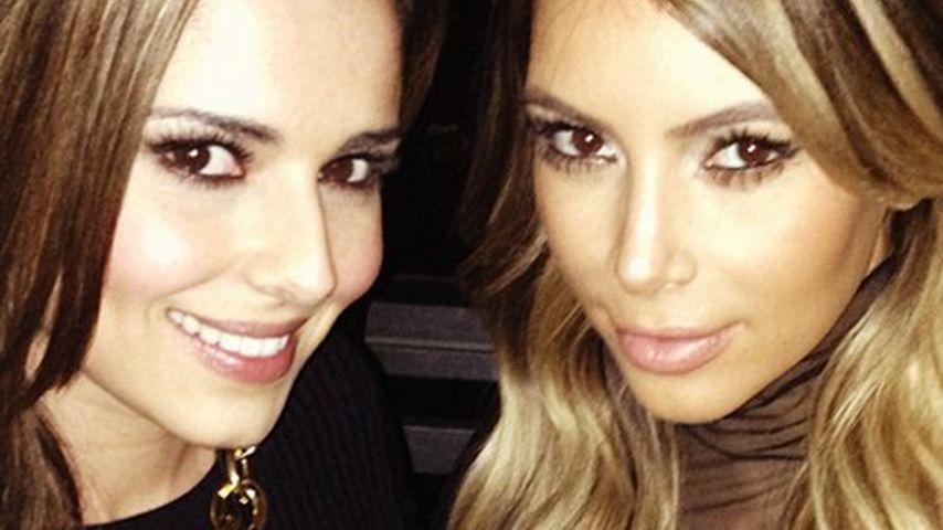 Neue BFF: Kim Kardashian vernarrt in Cheryl Cole