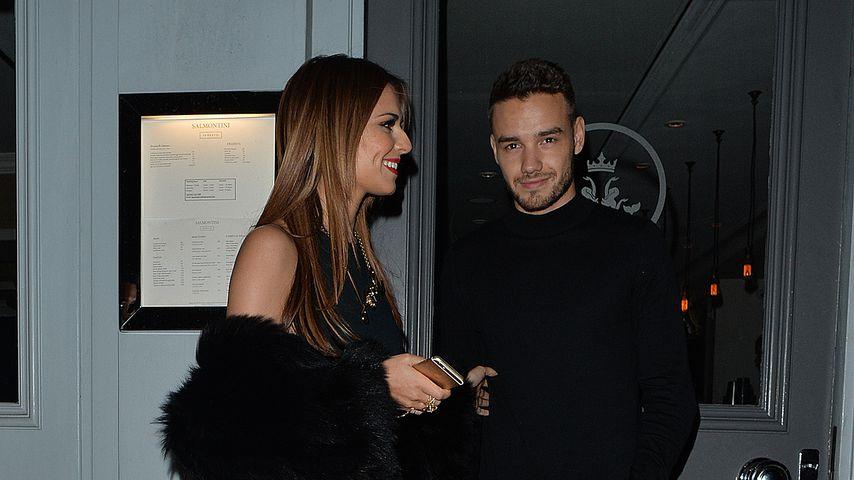 Cheryl Cole und Liam Payne 2016 bei einem romantischen Dinner in Knightsbridge