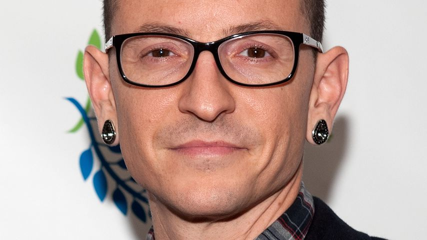 Chester Bennington in New York City 2014