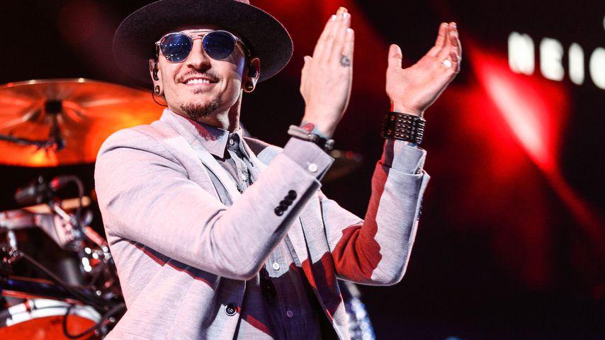 Chester Bennington bei der iHeartRadio Album Release Party