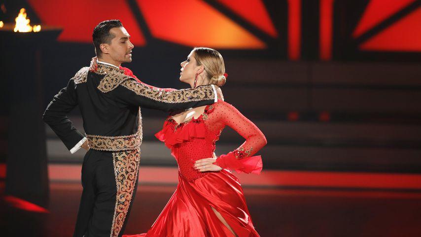 """Cheyenne Pahde und Andrzej Cibis bei """"Let's Dance"""""""