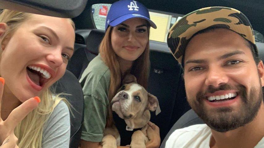 """""""Dreamteam"""": Yeliz postet Bild mit Freund Jimi und Cheyenne"""