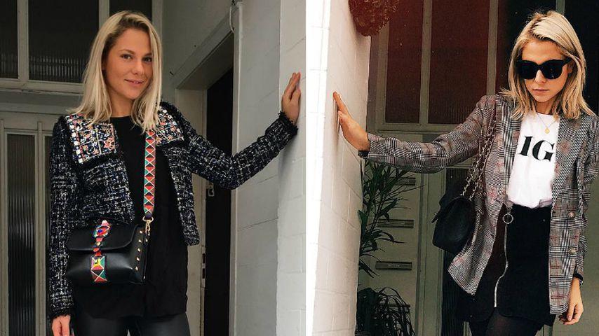 Pahde-Twins im Posing-Fieber: Welches Outfit ist schöner?