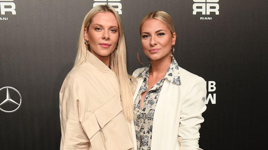 Cheyenne und Valentina Pahde bei der Mercedes-Benz Fashion Week, Januar 2020
