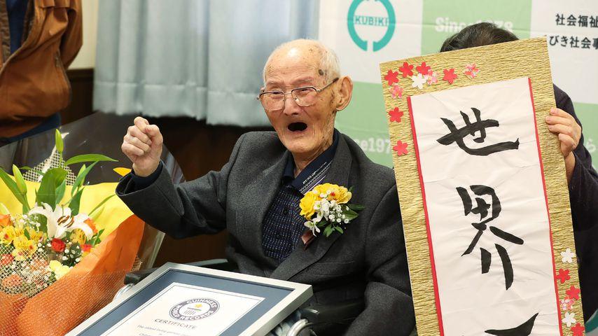 Vor 113. Geburtstag: Ältester Mann der Welt ist gestorben