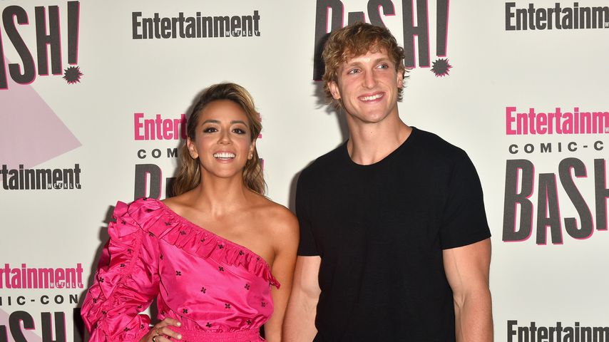 Chloe Bennet und Logan Paul auf der Entertainment Weekly-Party zur Comic-Con 2018