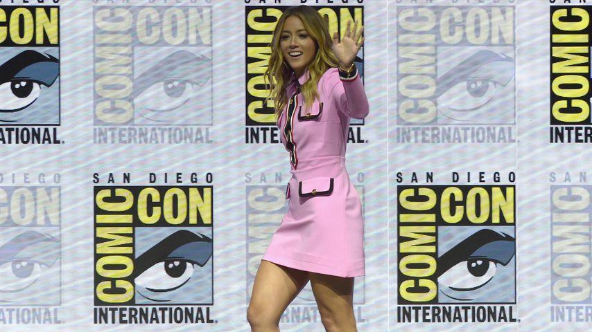 Chloe Bennet auf der Comic-Con in San Diego 2018