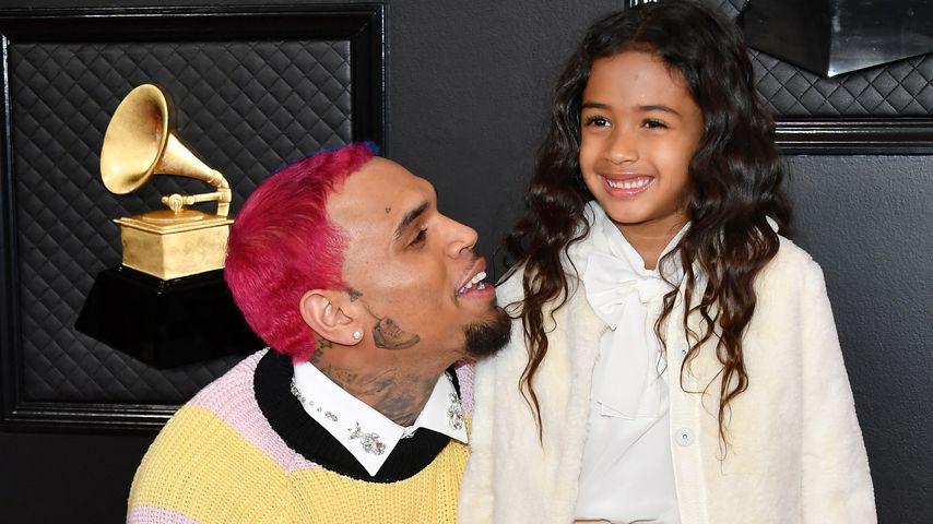 Tochter Royalty wird sechs: So süß gratuliert Chris Brown