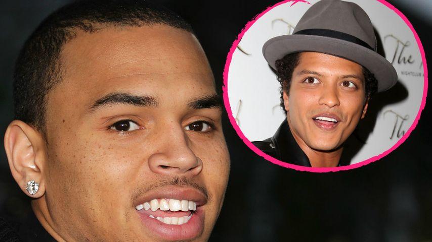 Bruno Mars unterstützt Chris Brown und erntet Shitstorm!