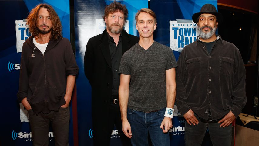 Chris Cornell, Ben Shepherd, Matt Cameron und Kim Thayil von Soundgarden, 2012