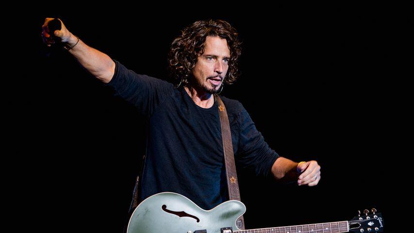 Sänger Chris Cornell im April 2014