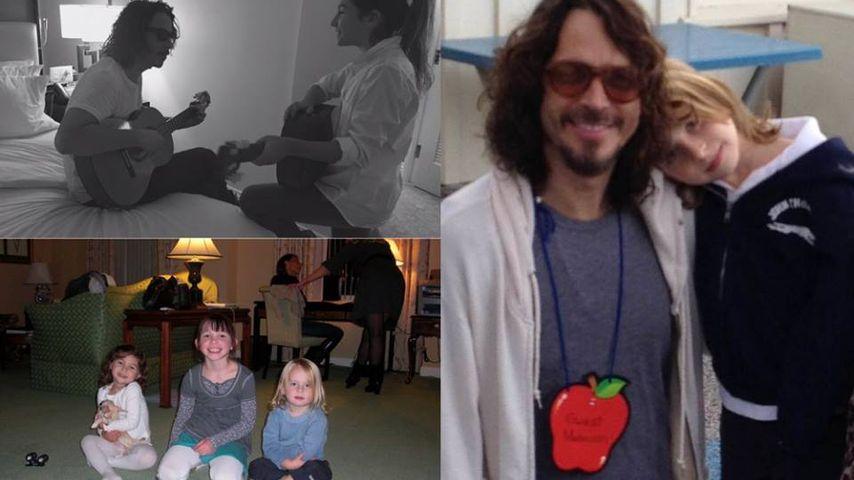 Chris Cornell (†): Frau & Kids widmen ihm Vatertags-Briefe