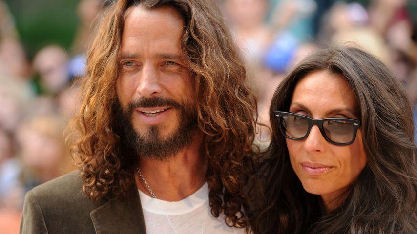 Chris Cornell und seine Ehefrau Vicky in Toronto