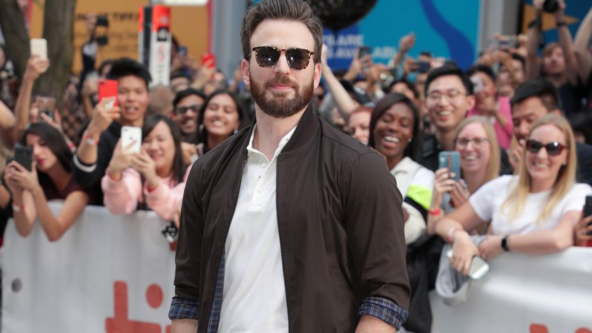 Chris Evans, Hollywoodstar