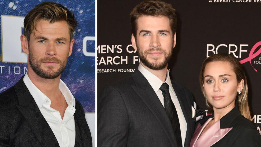 Chris Hemsworth will, dass Miley Cyrus Liam in Ruhe lässt!