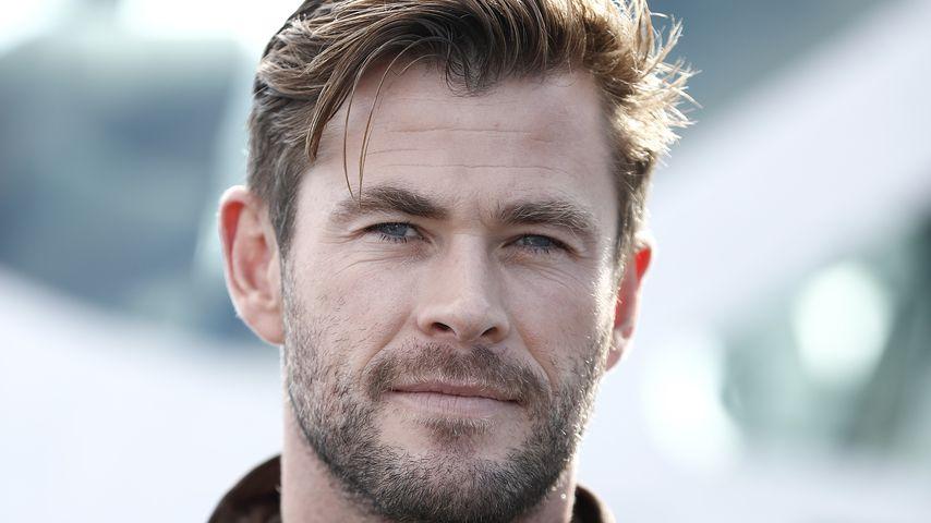 Chris Hemsworth: Er ahnt, wie es ist, schwanger zu sein!