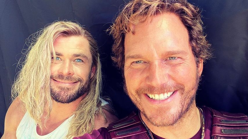 Chris Hemsworth und Chris Pratt