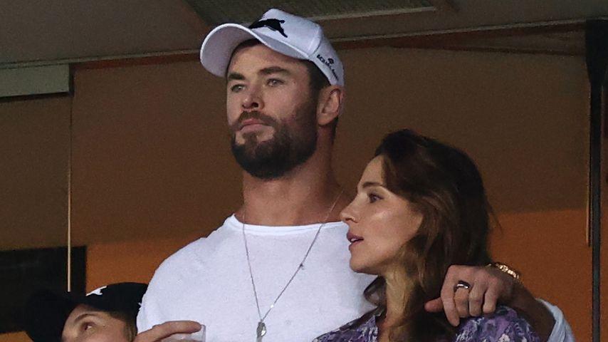 Chris Hemsworth und Elsa Pataky im März 2021