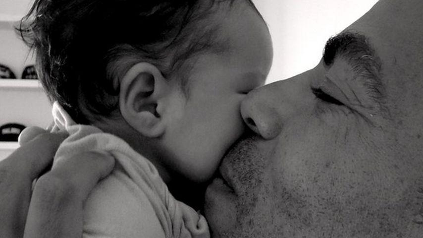 Chris Ivery mit Töchterchen Sienna