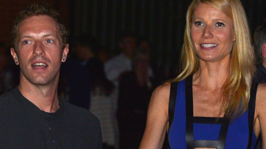 Chris Martin und Gwyneth Paltrow 2014 in Hollywood