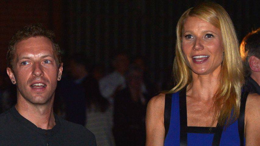 Chris Martin und Gwyneth Paltrow, 2014