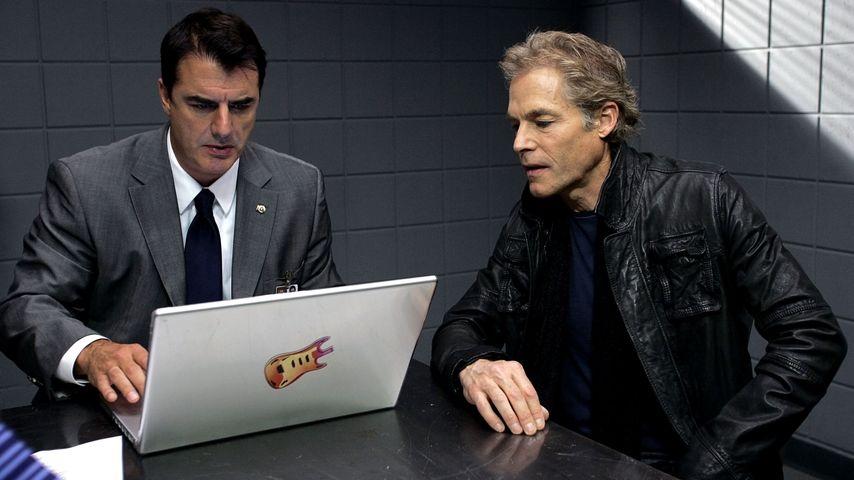 """Chris Noth und Michael Massee in einer Episode von """"Law & Order: Criminal Intent"""""""