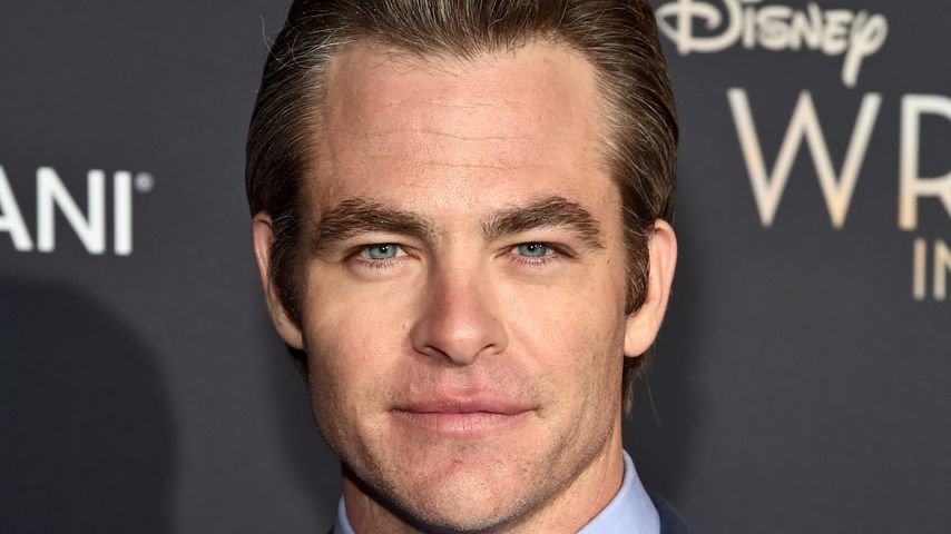 "Chris Pine bei der ""A Wrinkle in Time""-Premiere"