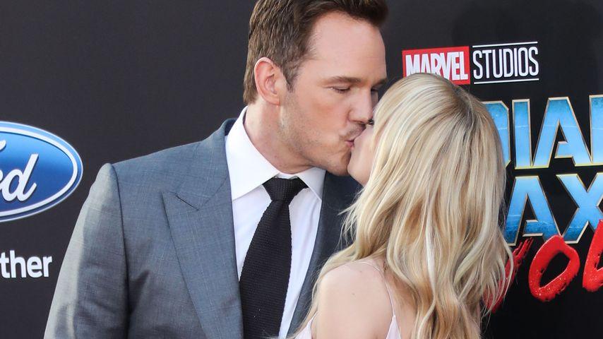 """Chris Pratt und Anna Faris bei der Premiere von """"Guardians of the Galaxy Vol. 2"""""""