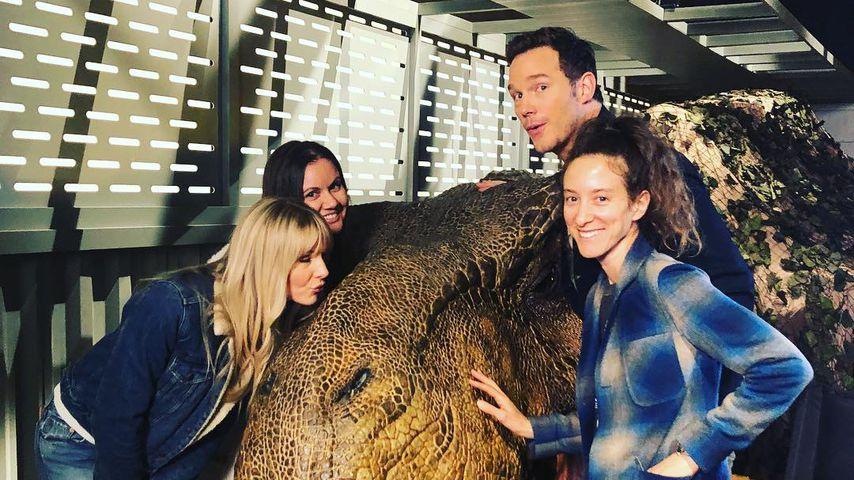 Chris Pratt, Schauspieler und T-Rex-Flüsterer