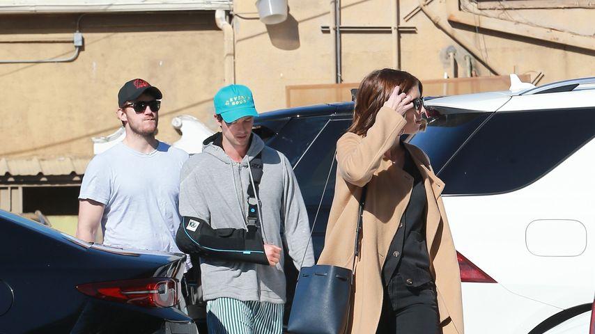 Chris Pratt mit Patrick und Katherine Schwarzenegger
