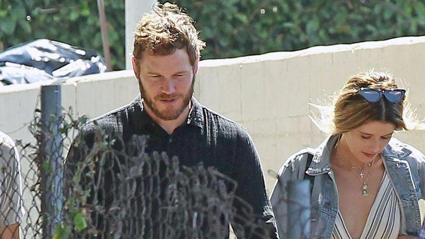 Chris Pratt und Katherine Schwarzenegger in Los Angeles, August 2018