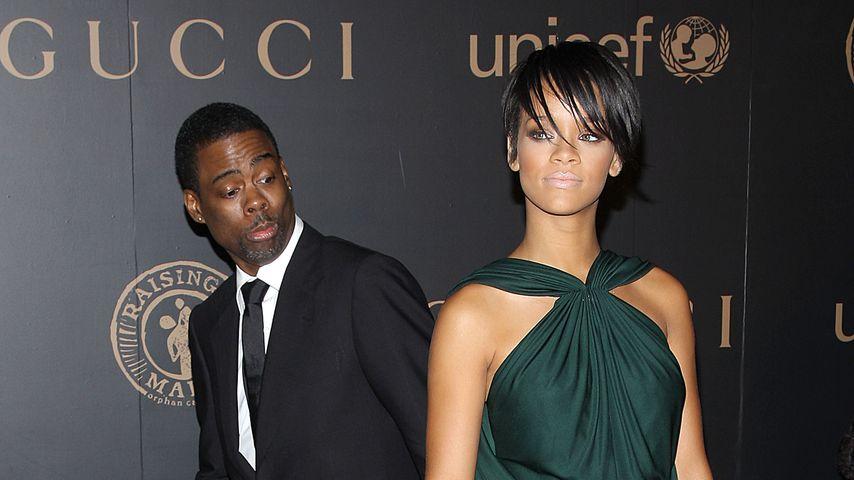 Chris Rock und Rihanna, 2008