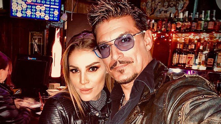 Chris Töpperwien und seine Verlobte Lili im Januar 2020