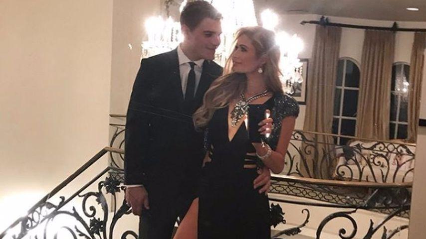 Chris Zylka und Paris Hilton
