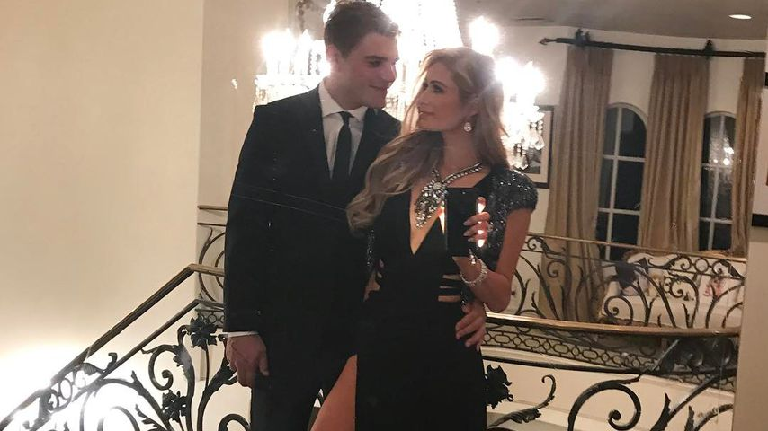Chris Zylka und Paris Hilton