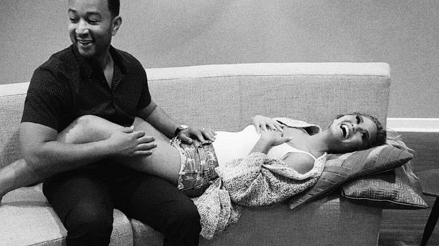 Es war ihr größter Wunsch: Chrissy Teigen ist schwanger!
