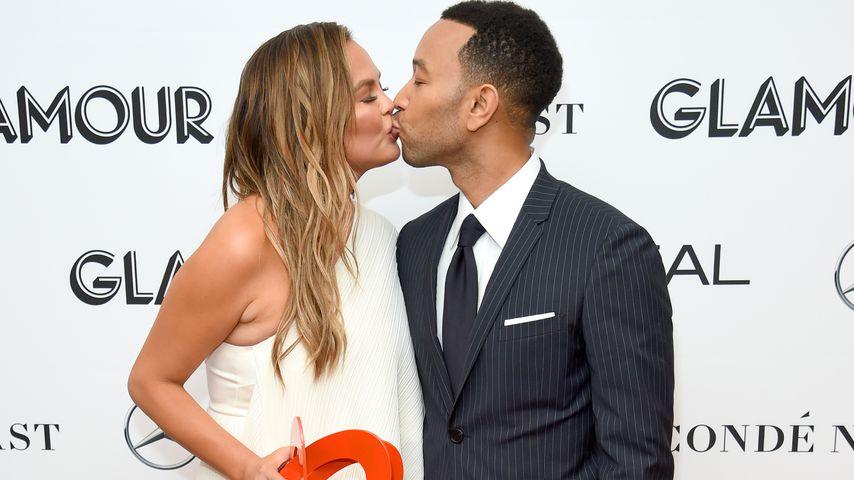 Chrissy Teigen und John Legend bei den Glamour Women Of The Year Awards